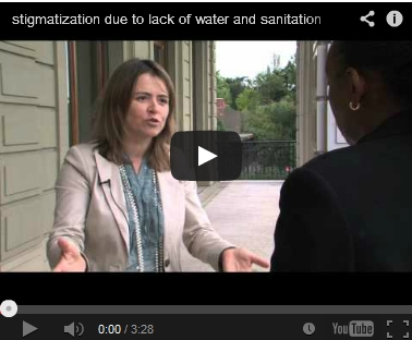 Stigmatization due to lack of water and sanitation